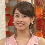加藤綾子(カトパン) セクシー画像!脚や太もも・ワキなど、下着のチラ画像も