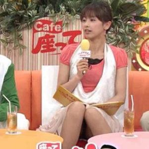 加藤綾子 太もも チラ セクシー画像