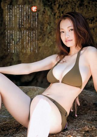 西田あい セクシーすぎる演歌歌手 水着画像