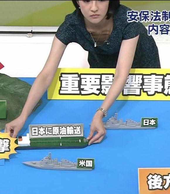 鈴木奈穂子 胸ちらのセクシーさが気になってしまう画像