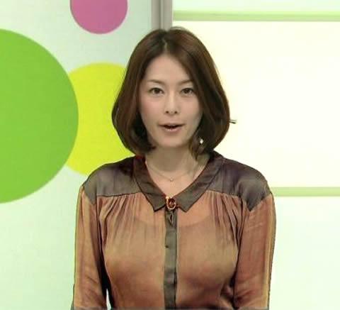 杉浦友紀 ちらっと透けて見える巨乳