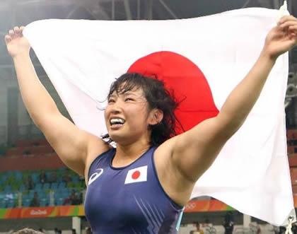 土性沙羅 リオデジャネイロ五輪・女子レスリング69kg級で金メダル
