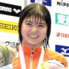 長谷川涼香【水泳】可愛いスイマーの画像とインスタも!池江璃花子は高校の後輩